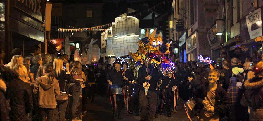 Ambleside Lantern Procession and Christmas Lights Switch On