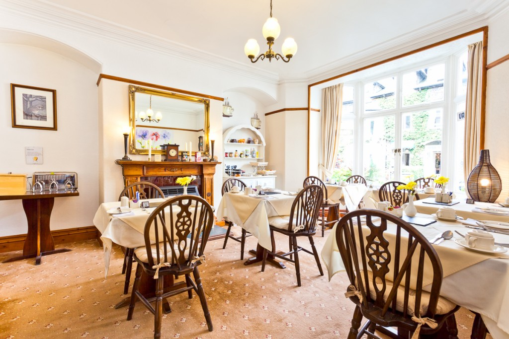 An Ambleside guest house: start the day the right way